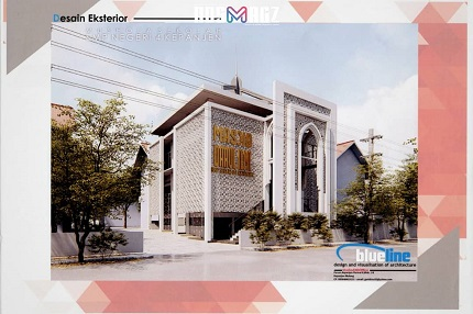 pembangunan masjid smpn 4 kepanjen